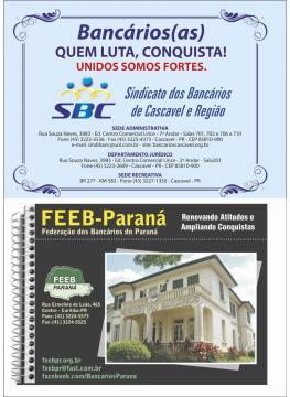 Sindicato e Federação dos Bancários do Paraná