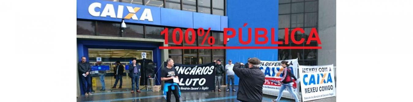 CAIXA 100% PÚBLICA