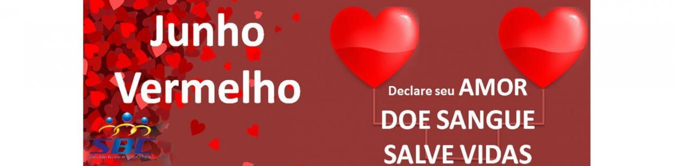 Declare seu amor - Doe sangue - Salve vidas.
