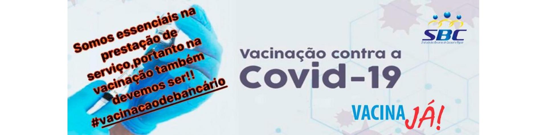 Vacinação de bancários
