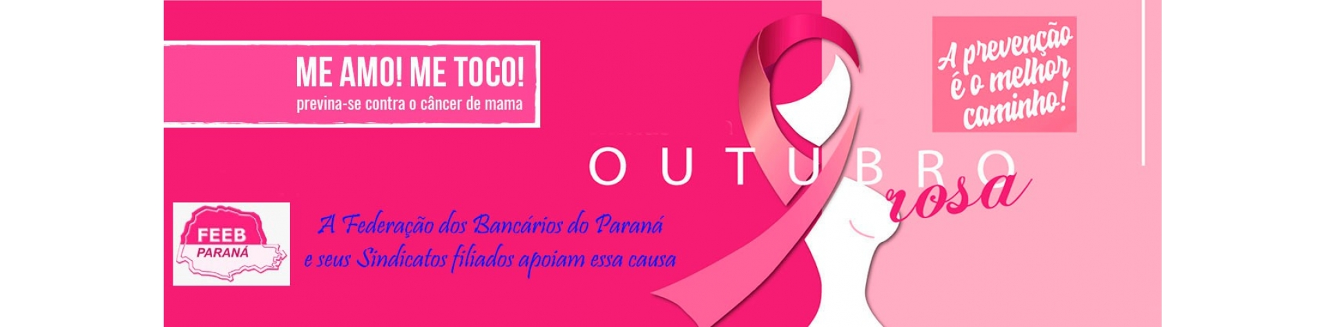 Outubro Rosa - A prevenção é o melhor caminho!
