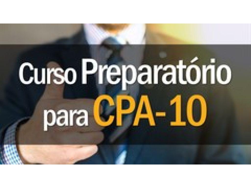 Curso Preparatório CPA 10 na Univel - inscrições abertas