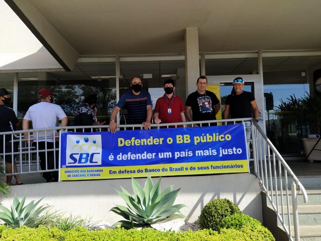Greve de 24h paralisa agências do BB em Cascavel e Corbélia