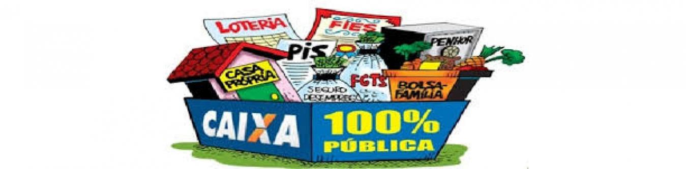 Não a privatização da Caixa
